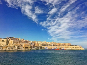 View of Valletta from Birgu