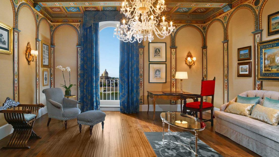 Royal Suite at St Regis Florence 2