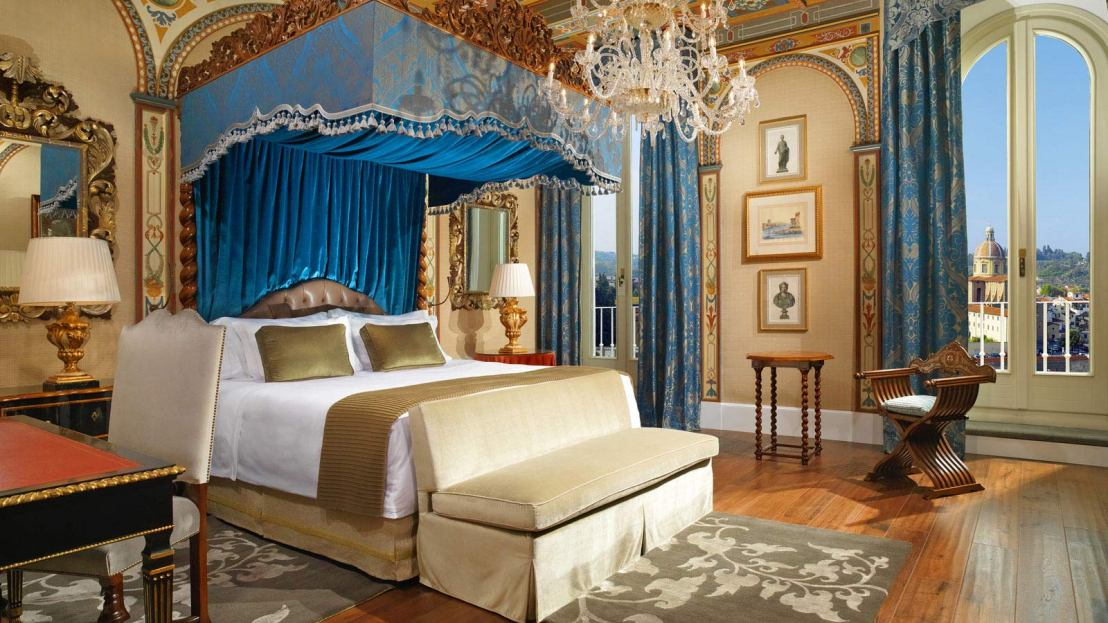 Royal Suite at St Regis Florence